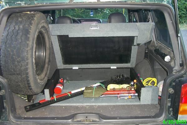 Finished My Rear Cargo Box Pics JeepForumcom